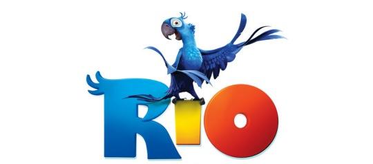 Ararinha do filme Rio com corte