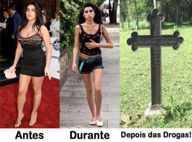 Drogas antes e depois