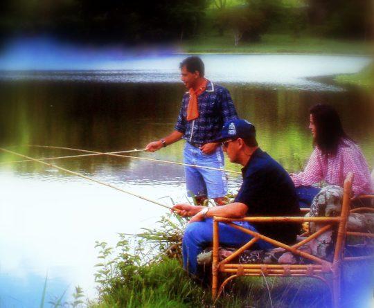 Seus filhos vão adorar a emoção de fisgar seus peixes.