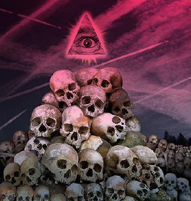 Olho de Lúcifer o mestre das conspirações.