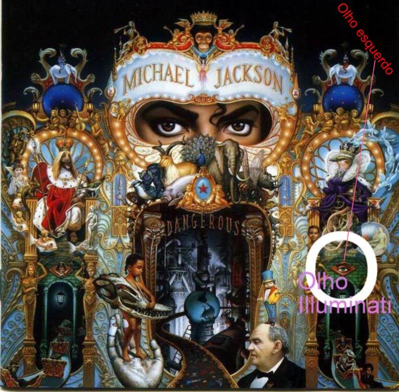 Michael Jackson - Capa Illuminati