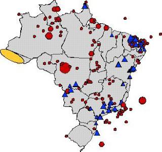 Terremotos no Brasil estão aumentando
