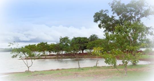 Vista parcial do que será a grande ampliação da Prainha Àgua de Côco em Cachoeira Dourada GO.